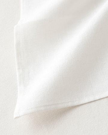 FOG LINEN WORK(フォグリネンワーク)  リネン・キッチンクロス(普通地)ホワイト