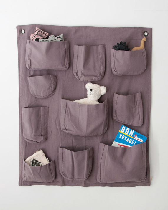 NUMERO 74  WALL POCKET ウォールポケット(S041 DUSTY LILAC)