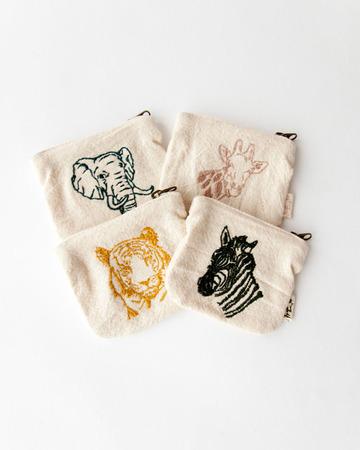 NUMERO 74  ANIMAL MINI PURSE アニマル刺繍ミニパース
