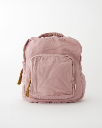 NUMERO 74 キッズ BACKPACK コットンキャンバス バックパック(S007 DUSTY PINK)