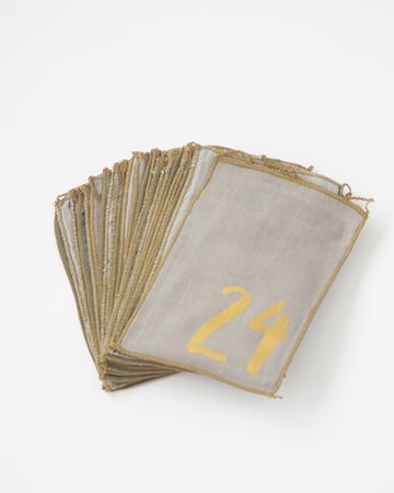 NUMERO 74  ADVENT CALENDAR GIFT BAG アドベントカレンダー(MIX BLUE)